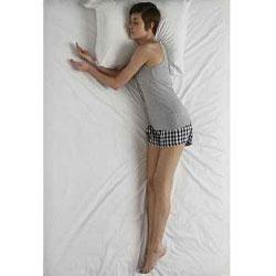 dormir posicion suplicante
