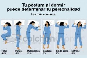 posturas dormir