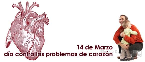 14 de Marzo día de la prevención contra los problemas de corazón