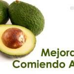 Mejora tu salud comiendo Aguacate