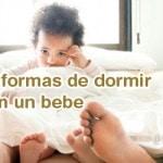 10 posturas para dormir con un bebe
