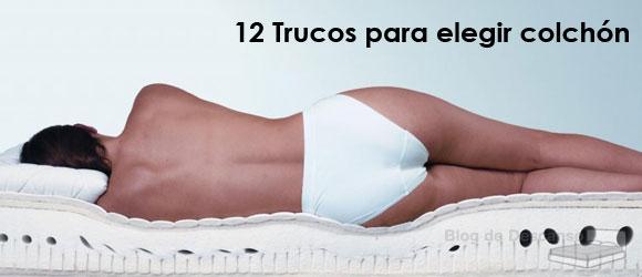 11 trucos para elegir colchón