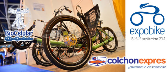 Colchón Exprés y Biocelular en ExpoBike 2013