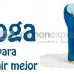 Ejercicios de yoga para dormir mejor