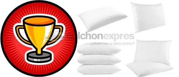 Las 5 mejores almohadas calidad precio