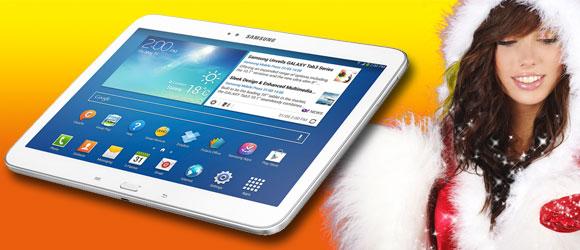 Sorteo de una tablet Samsung Galaxy Tab 3
