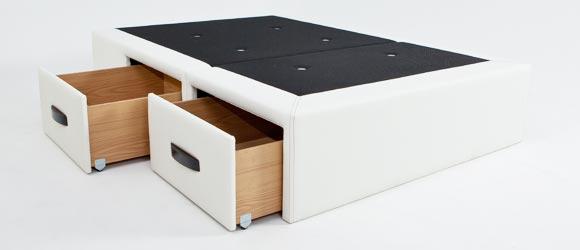 Ideas para ahorrar espacio en casa: canapés con cajones