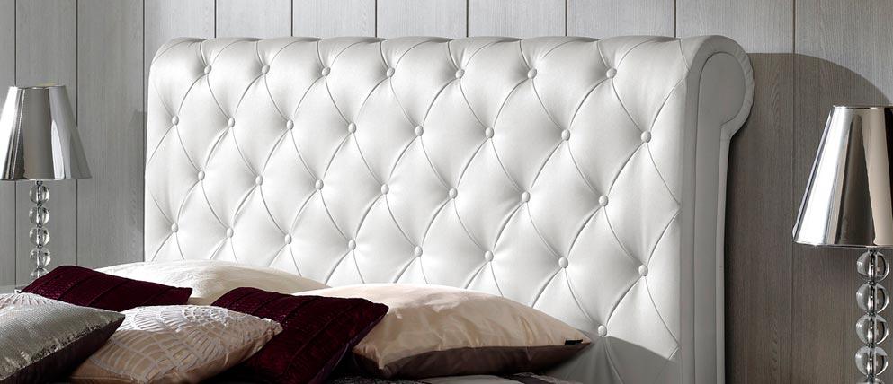 Cabeceros de cama originales ideas para decorar dormitorios - Cabecero de cama acolchado ...