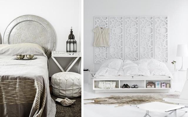 Cabeceros de cama originales ideas para decorar dormitorios - Cabeceros de madera originales ...
