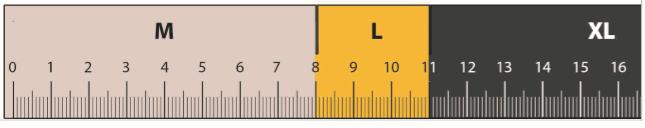 Regla para medir la altura de la almohada