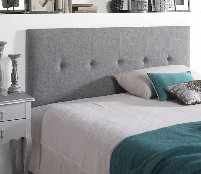 Ideas para cabeceros de cama sorprendentes - Cabeceros tapizados en tela ...