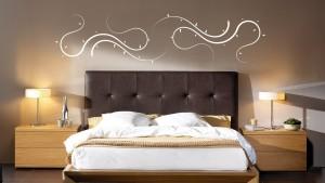 Cabecero de cama tapizado capitone pinchos