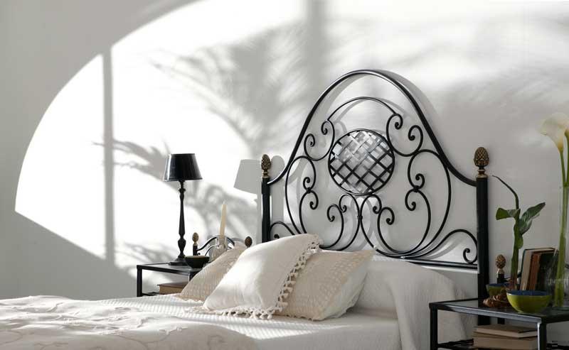 Ideas para cabeceros de cama - Cabecero de forja tradicional