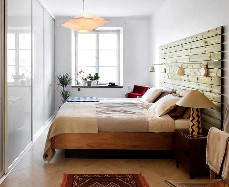 Ideas para cabeceros de cama sorprendentes - Cabecero de cama de madera ...