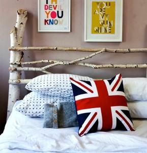 Ideas para cabeceros de cama - Cabeceros con ramas de árbol