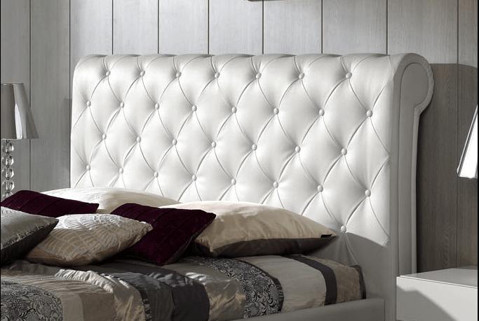 Selecci n de cabeceros acolchados para dormitorios - Ideas para un cabecero de cama ...