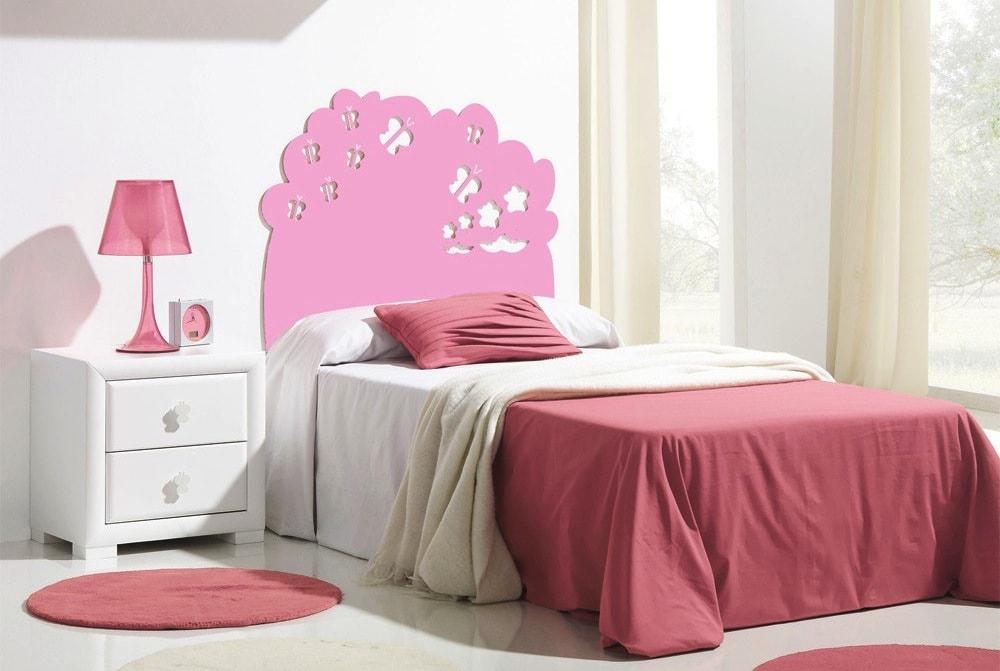 Selecci n de 10 cabeceros de cama infantiles incre bles - Cabecero cama infantil ...