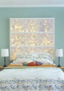 Cabeceros de cama infantiles con luces