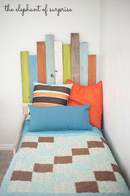 Cabeceros de cama infantiles de madera