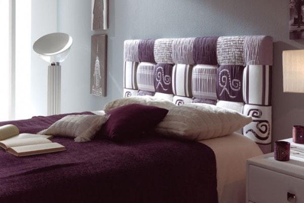 Selecci n de cabeceros acolchados para dormitorios - Cabeceros de cama hechos a mano ...