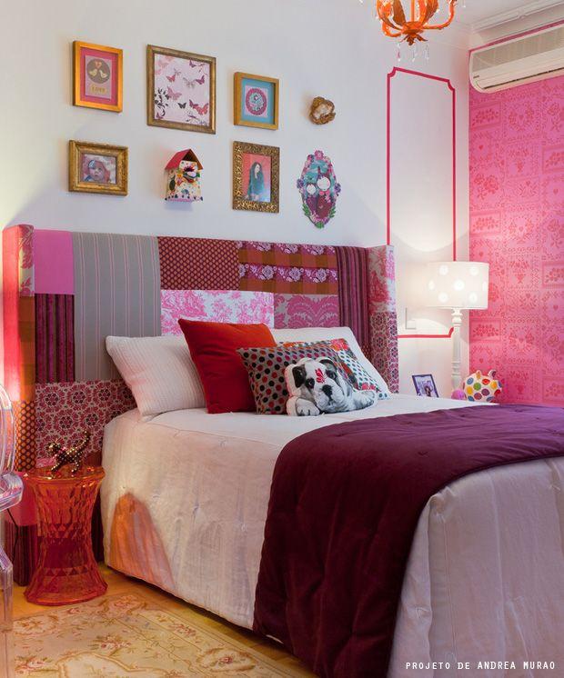 cabeceros de cama modernos de patchwork