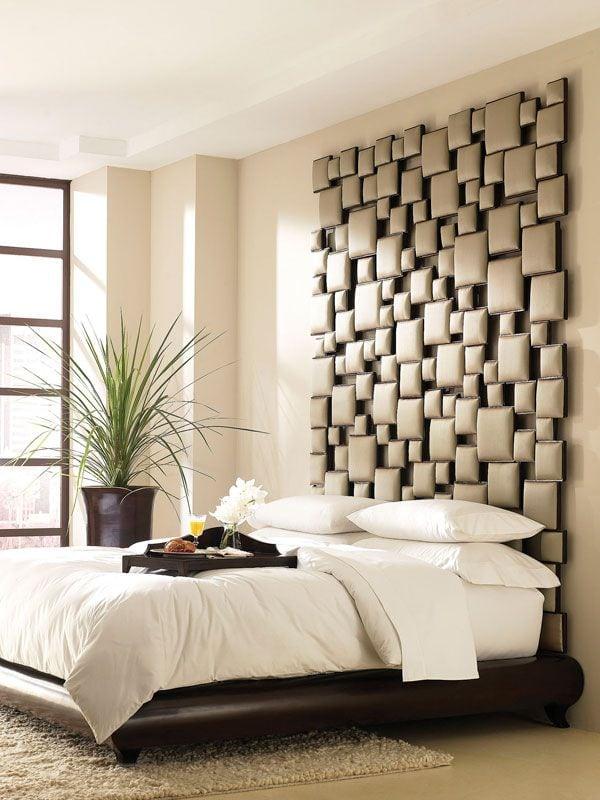 8 ideas de cabeceros de cama modernos y sencillos - Cabeceros de cama manuales ...