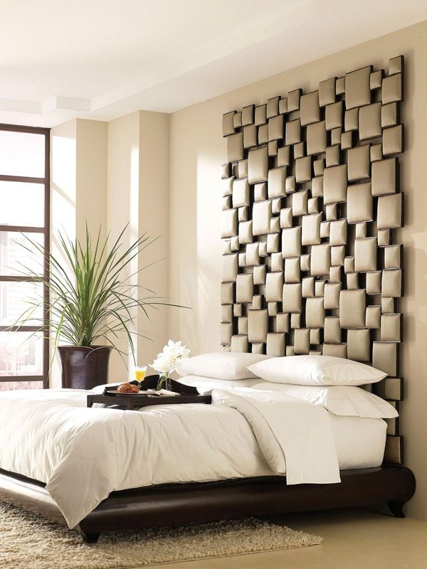 cabeceros de cama modernos desestructurados