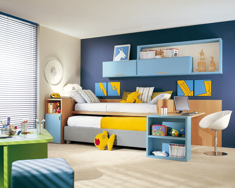camas-nido-infantiles-con-escritorio