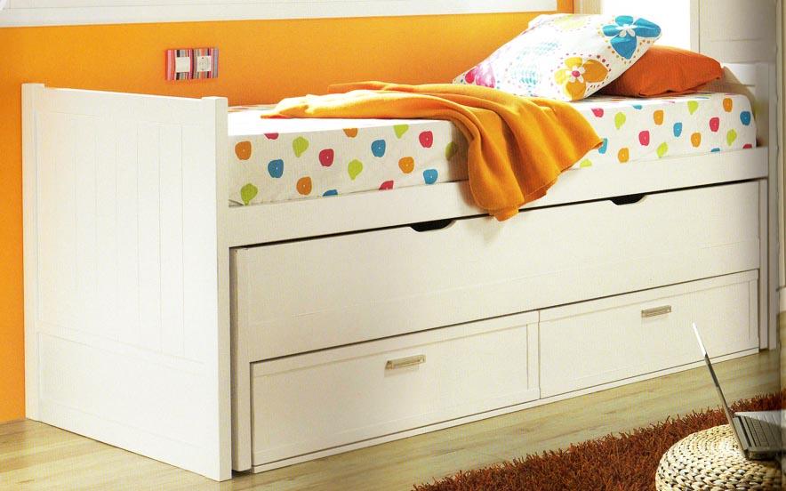 5 camas nido infantiles muy originales colchon expr s for Camas con cajones debajo