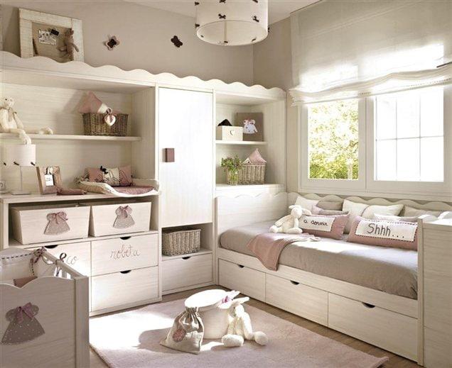 camas nido infantiles estilo sofa