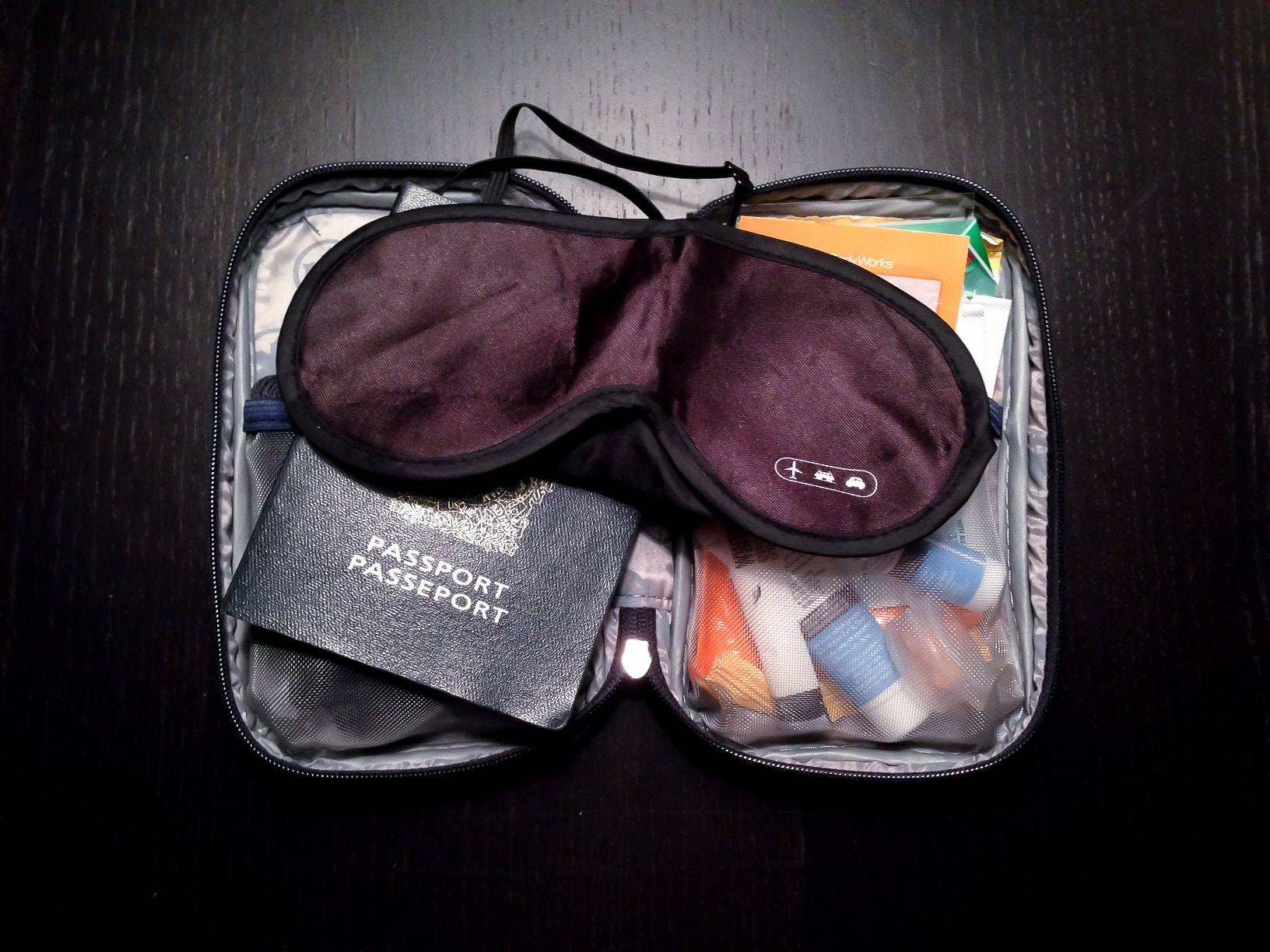 Kit de viaje para combatir el jet lag