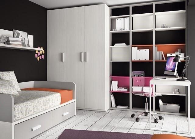 Camas juveniles tipos y ventajas for Programa para decorar habitaciones online