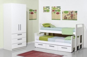 camas juveniles individuales