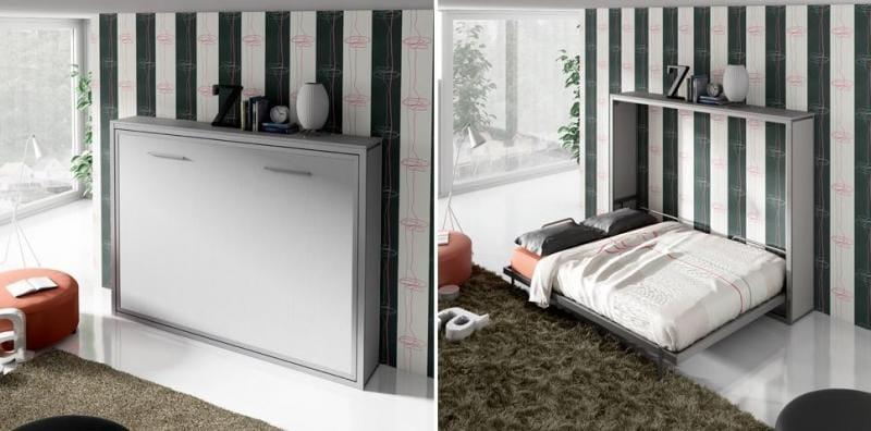 Camas abatibles horizontales para un mayor espacio - Camas muebles abatibles ...