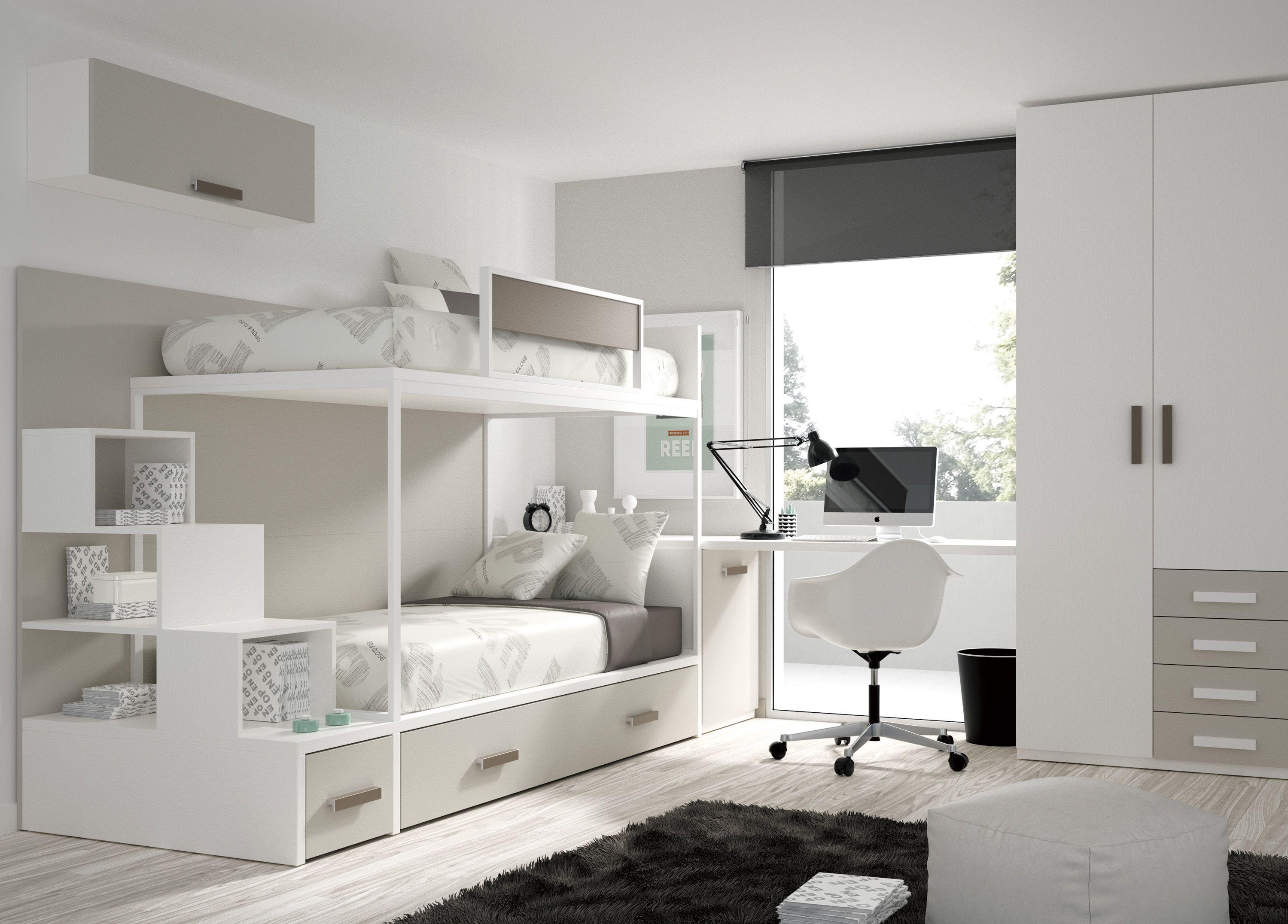 literas de tres camas compartir habitaci n