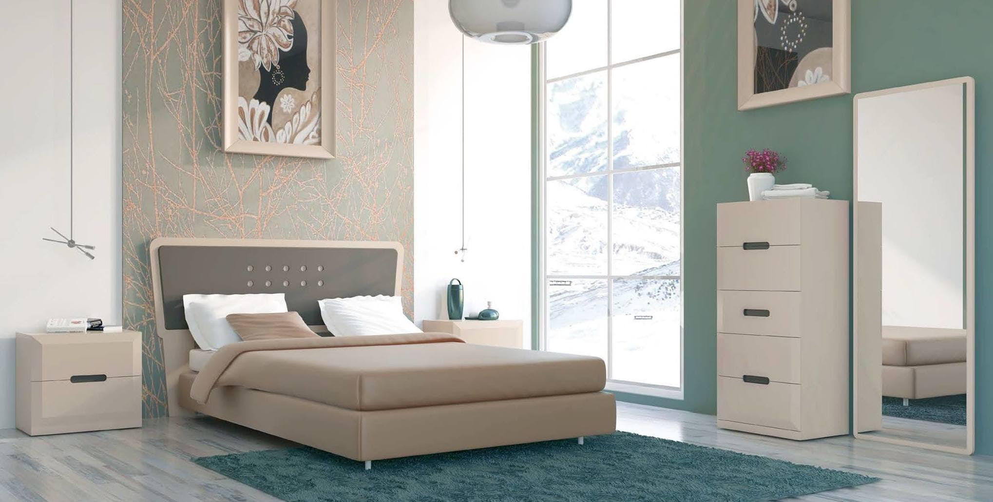 camas de matrimonio baratas con estilo
