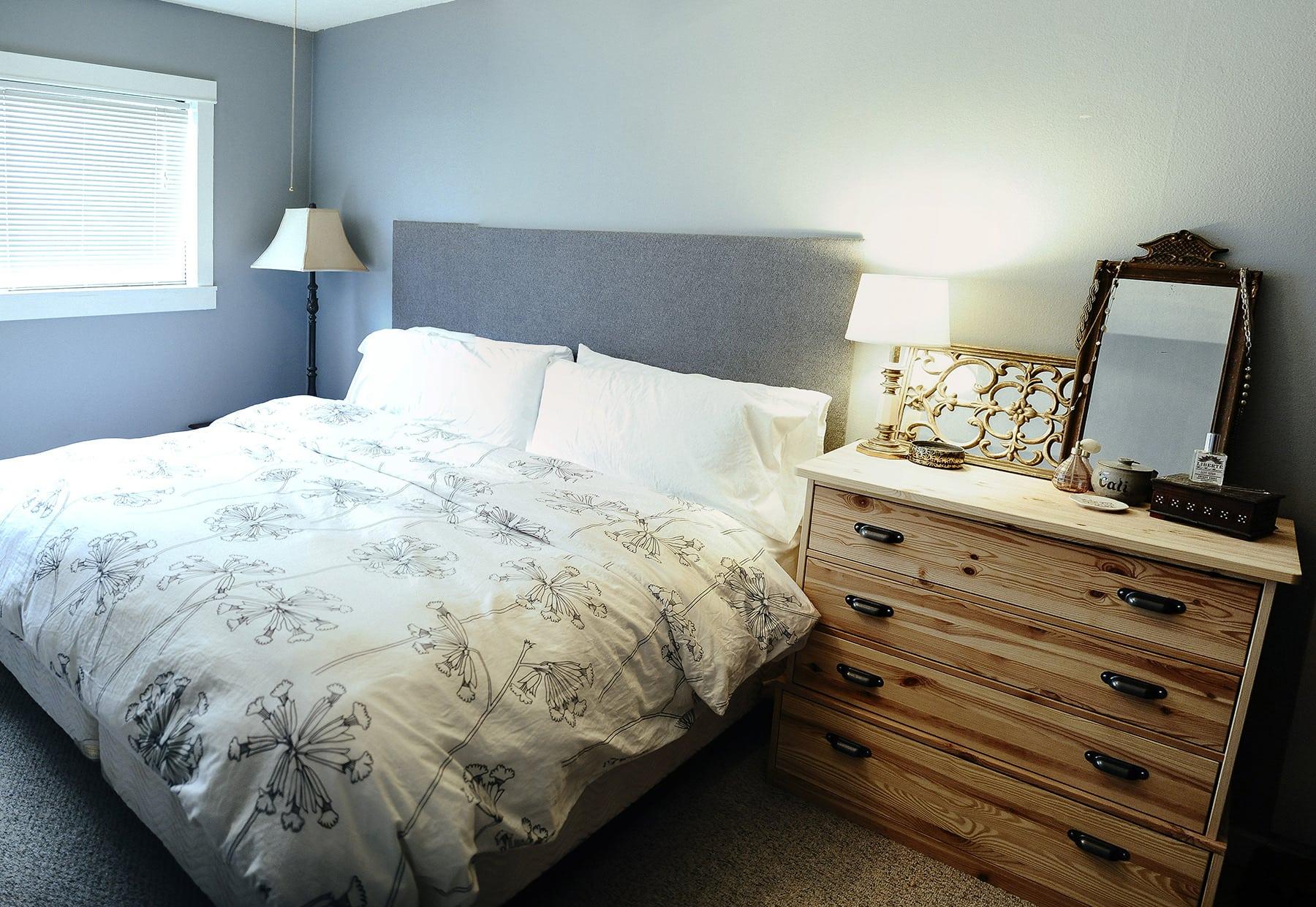 Cabeceros de cama elegantes y originales - Hacer cabecero cama barato ...