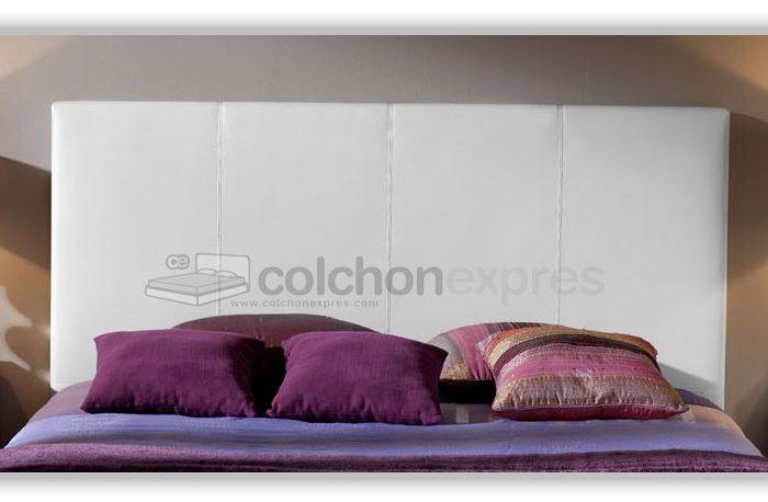 Cabeceros de cama baratos en colch n expr s - Cabecero de cama acolchado ...