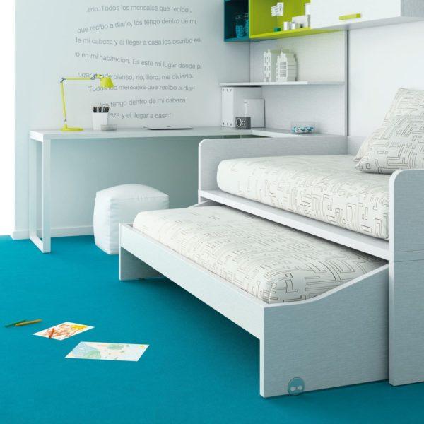 cama juvenil compacta