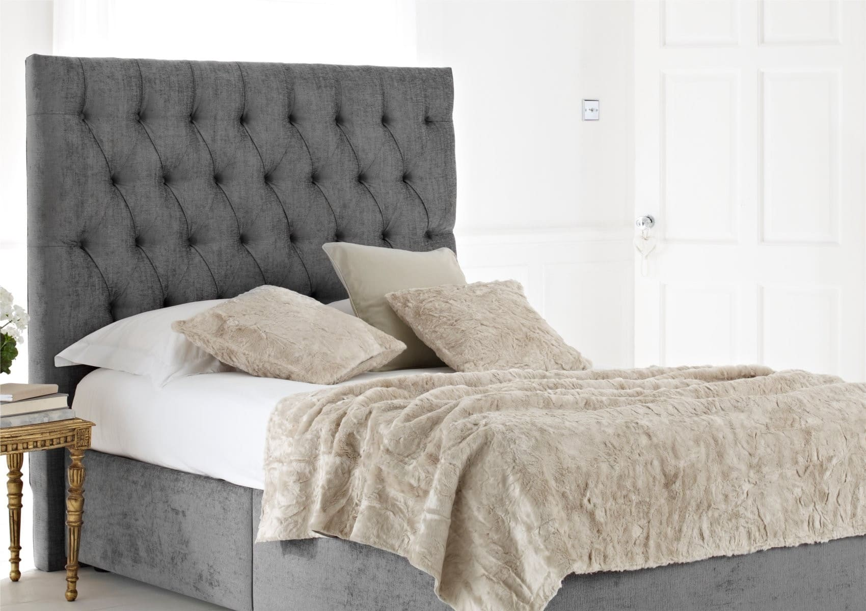 Cabeceros de cama elegantes y originales - Ideas de cabeceros ...