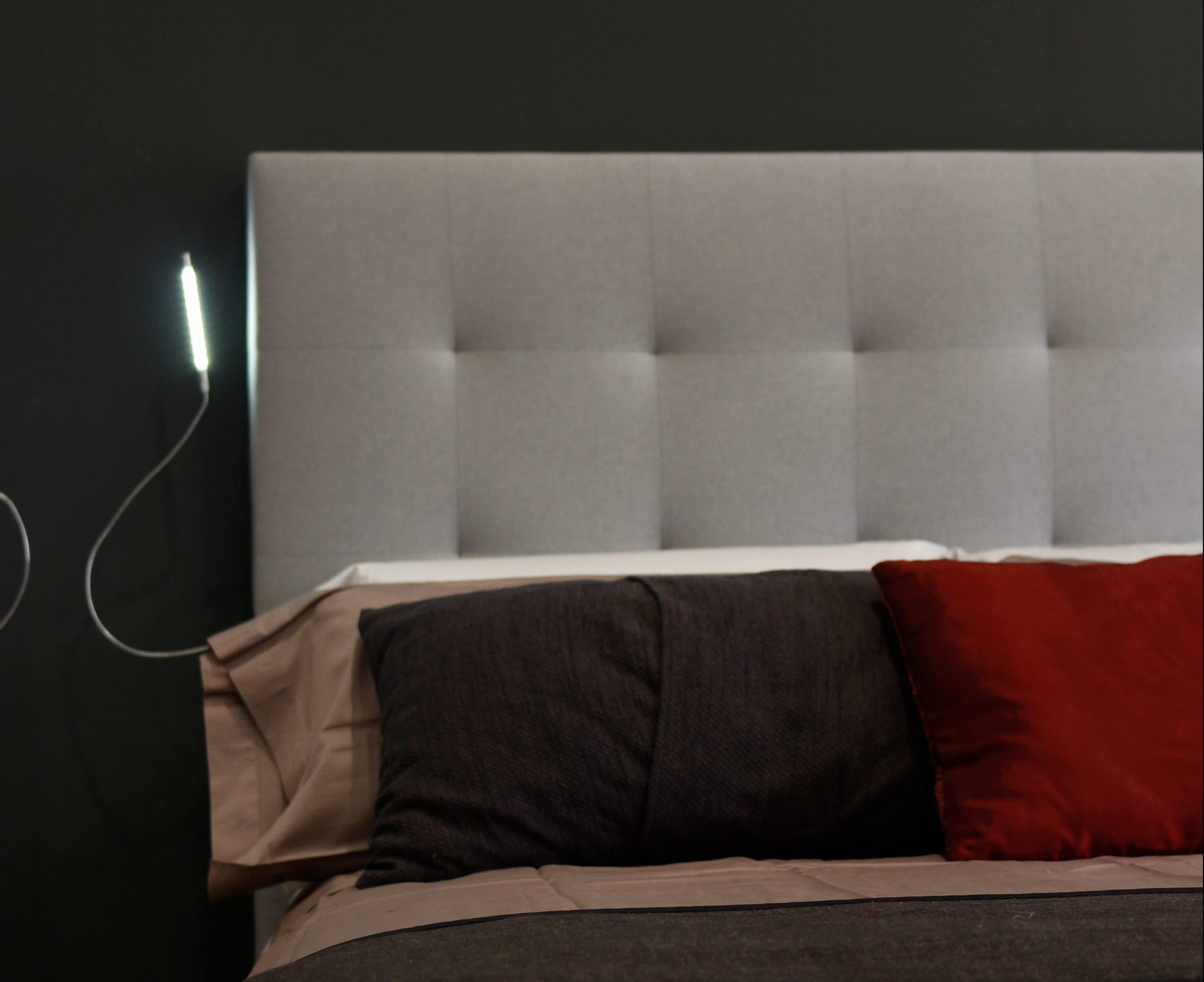 Cabeceros de cama elegantes y originales for Cabezales originales