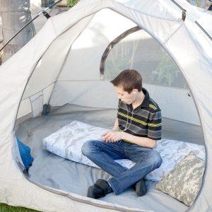 colchón enrollable