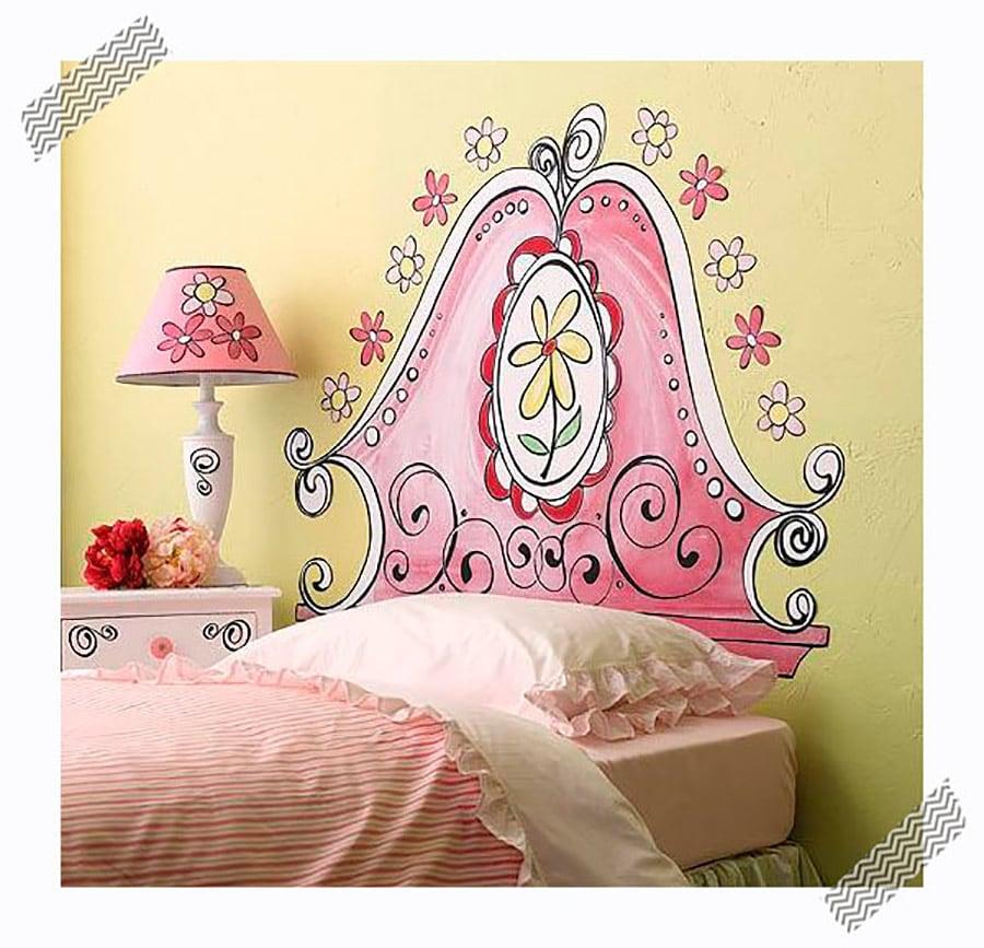 Cabeceros originales y baratos para dormitorios infantiles - Pinturas originales para dormitorios ...