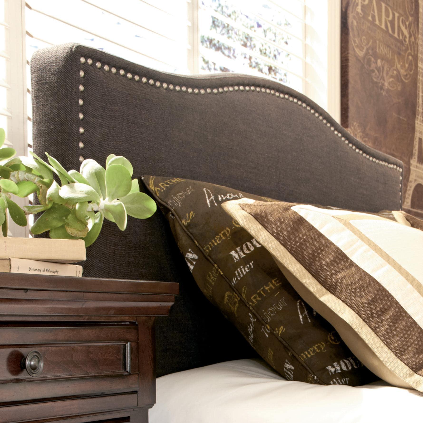 Cabeceros tapizados en tela para todos los dormitorios for Cabeceros de cama tapizados