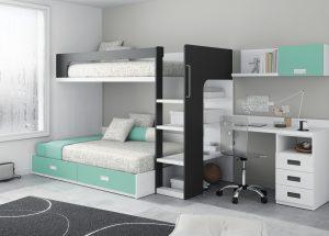 literas con cama nido
