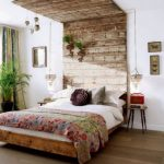 Cabeceros de madera DIY para ambientes cálidos
