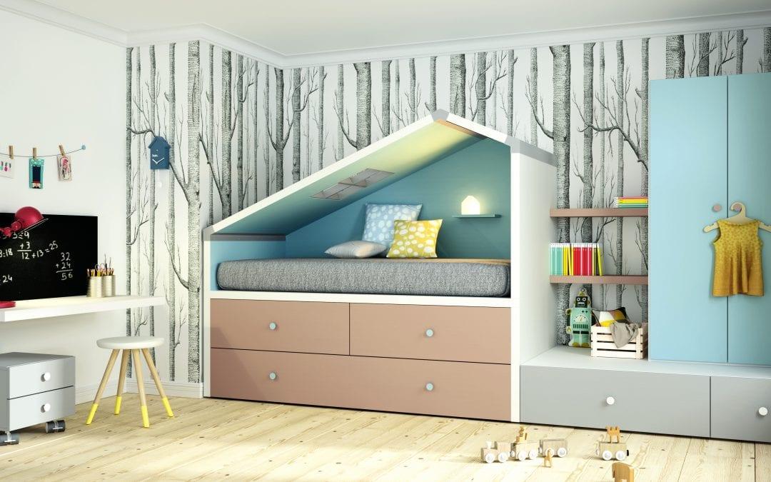 Camas nidos para dormitorios infantiles y juveniles - Dormitorios infantiles para dos ...