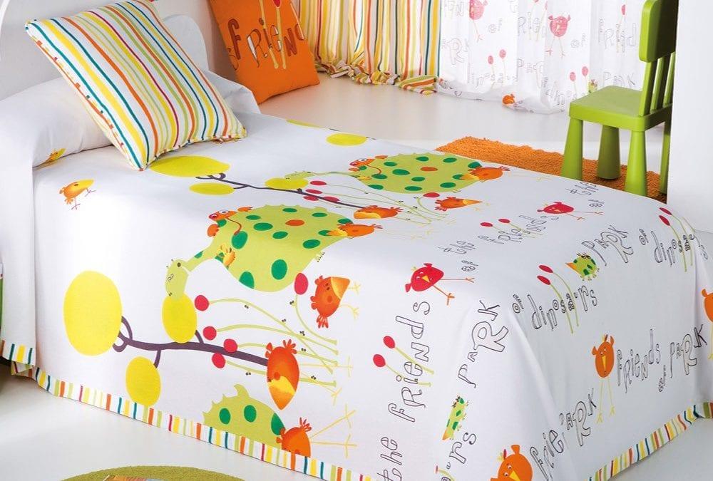 Colchas originales para dormitorios infantiles
