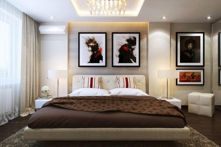 Cuadros para dormitorios modernos c mo colocarlos con xito for Cuadros para decorar dormitorios