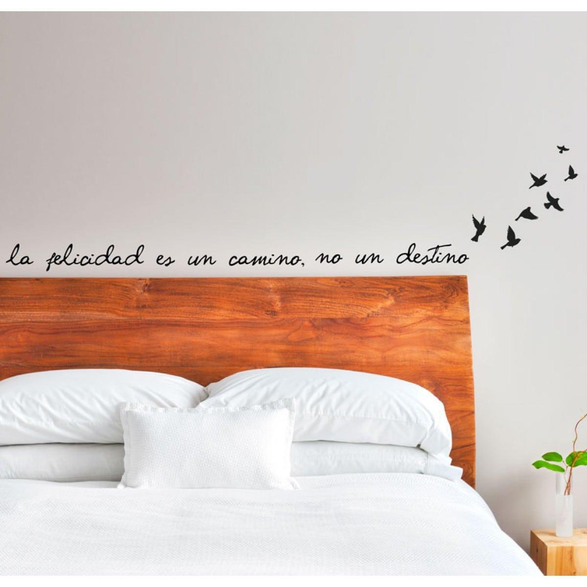 Vinilo cabecero de cama una idea diferente para tu - Vinilo cabecero cama ...
